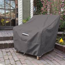 Classic Accessories Veranda Round Square - garden chair covers home outdoor decoration