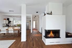 open indoor gas fireplace air wood outdoor split upper balcony