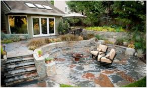 Small Paver Patio by Backyards Terrific Backyard Flagstone Patio Ideas Backyard