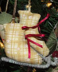 how to make iceskate ornaments how to sew iceskate tree ornaments