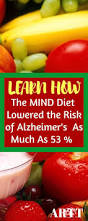 mind diet lowers risks of alzheimer u0027s a road to travel