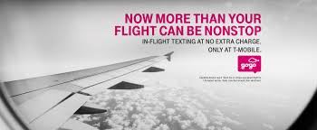 t mobile free inflight wifi in flight texting text in the air with t mobile uncarrier t mobile