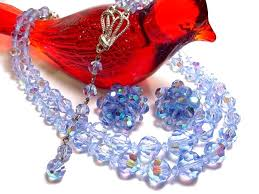 blue glass necklace vintage images Shop unique kramer of new york jewelry unsigned regency costume jpg