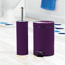 Bathroom Accessories Australia by Complete Your Bathroom With Sweet Purple Bath Accessories Homesfeed