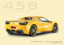 ferrari spider ferrari 458 spider technical drawing illustrator by darkspeeds