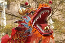 charlotte thanksgiving parade chinese lion and dragon dance