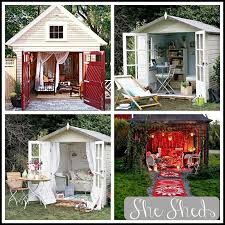 She Sheds Hermamas She Sheds Womens Answer To The Man Cave