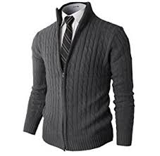 sweater mens h2h mens slim fit zip kintted cardigan sweaters with twist