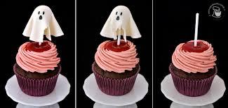 Cupcakeando Arquivos Halloween Cupcakes De Framboesa E