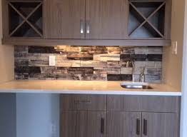 Perfect Stone Veneer Kitchen Backsplash Find This Pin And More In - Stacked stone veneer backsplash