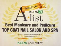 sacramento ca nail salon top coat nail salon u0026 spa