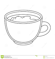 espresso coffee clipart espresso coffee different types of coffee single icon in outline