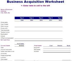 acquisition plan template business acquisition worksheet template free layout format