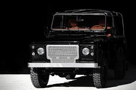 land rover black land rover defender u0027back in black u0027 hiconsumption