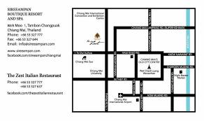 Italian Restaurant Floor Plan The Zest Italian Restaurant Chiang Mai
