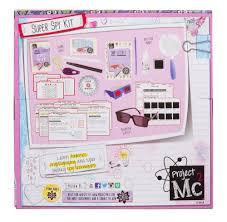 amazon com project mc2 super spy kit toys u0026 games