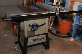 delta 13 10 in table saw 36 725 delta table saw assembly youtube