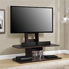 whalen brown cherry tv stand whalen london 41 in flat panel console with swing floater hayneedle
