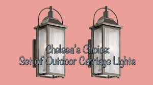 Carriage Light Kichler Carriage Light Giveaway Checking In With Chelsea