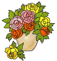Pictures Of Vases With Flowers Free Flower Clipart