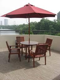 Outdoor Patio Set With Umbrella Brilliant Patio Tables With Umbrellas Patio Tables With Umbrella