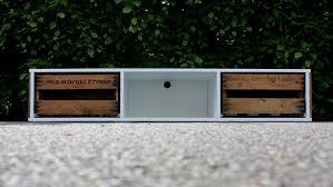 Wohnzimmerschrank Aus Weinkisten Amazon De Pfalzvilla Kleinserien Tv Board Weiß Aus Weinkisten 160cm