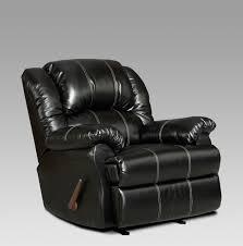 Black Rocking Recliner Roundhill Furniture