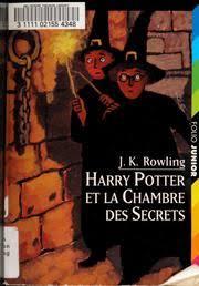 harry potter chambre des secrets vf harry potter et la chambre des secrets rowling j k free
