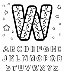 build w free alphabet coloring pages alphabet coloring pages of