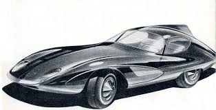 vintage cars drawings strother macminn u0027s lemans coupe sports cars of the future 1959