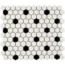 hexagon mosaic tile tile the home depot