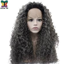 curly grey hair promotion shop for promotional curly grey