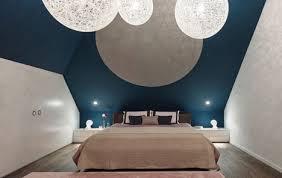 leuchten schlafzimmer den sternen so nah schlafen unter der dachschräge dachgeschosse
