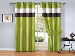 Green And White Curtains Decor Popular Green Green Living Room Curtains Idea With Helkk