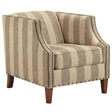 Striped Accent Chair Berwyn View Quartz Striped Accent Chair Accent Chairs Living