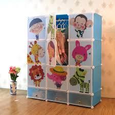 Baby Wardrobe Organiser Kids Storage Toy Boxes Kids Wardrobe With Shoe Rack Interlocking