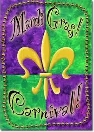 mardi gras banner mardi gras flagline