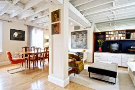 concrete ceiling home accessories nice industrial home theater with unfinished