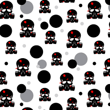 skull wrapping paper premium gift wrap wrapping paper roll pattern undead