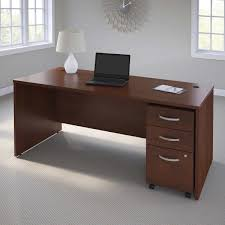 Mobile Computer Desk Business Office Pro Computer Desk With 3 Drawer Mobile Pedestal