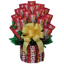 candy arrangements an american classic skittles candy gift set christmas gift or