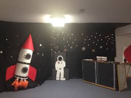 my outer space decorations for bible explorers 2016 just using