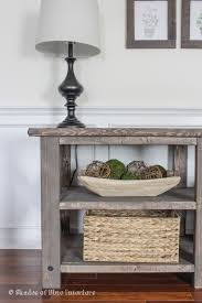 Media Console Table Makeover Monday X Media Console Shades Of Blue Interiors