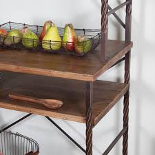 Bakers Rack Console Townsend Bakers Rack Hayneedle