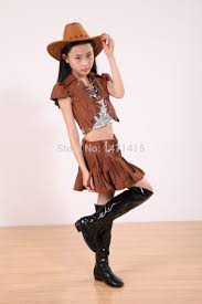 children dance dress halloween costumes for kids cowboy cosplay