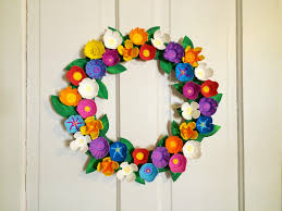 our beautifully messy house egg carton flower wreath