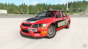 mitsubishi evolution 2017 lancer evolution ix 2006 remaster for beamng drive