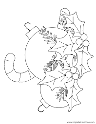 christmas bells coloring pages jacb me
