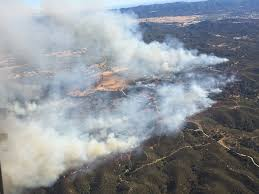 Wildfire Shot Drink by Santa Margarita Wildfire Destroys Four Structures 1 600 Acres