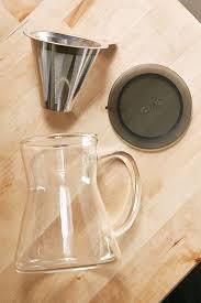 brew in a mug tea infuser and mug gadget flow